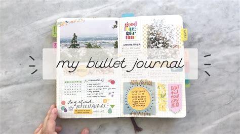My Bullet Journal A Flipthrough  Cheyenne Barton Youtube