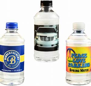 promotionalmerchandisecom With custom water bottle labels vistaprint