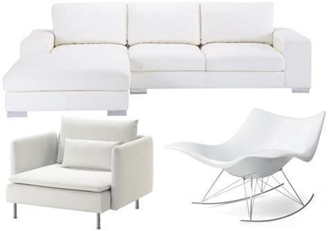 canapé clic clac design canapé blanc et fauteuil blanc 25 modèles à prix doux