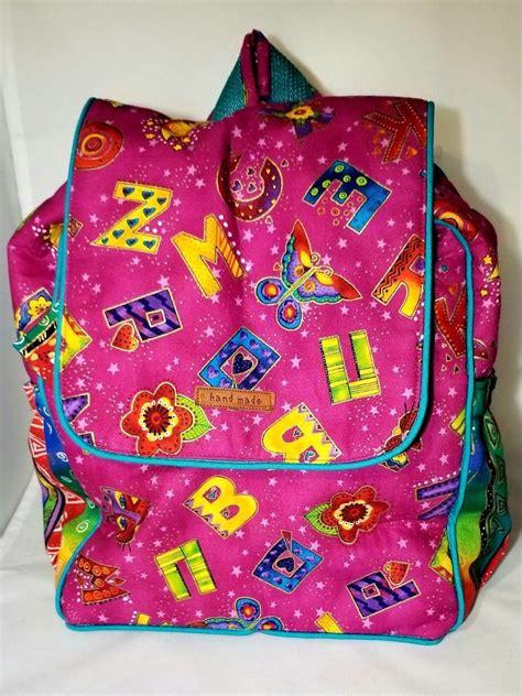 alphabet delight combo backpacklunch bag   backpack lunch bag