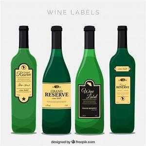 etichetta bottiglia vectors photos and psd files free With fancy wine bottle labels