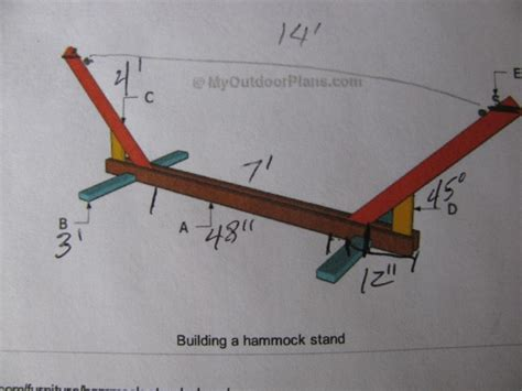 diy hammock stand plans woodworking plans hammock stand plans pdf plans
