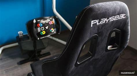 playseat evolution test les supports de volants et cockpits pour simulation de
