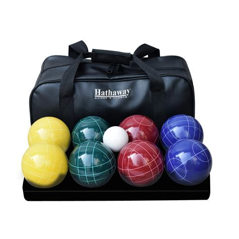 Hathaway Deluxe Bocce Ball Set BG3139   The Home Depot