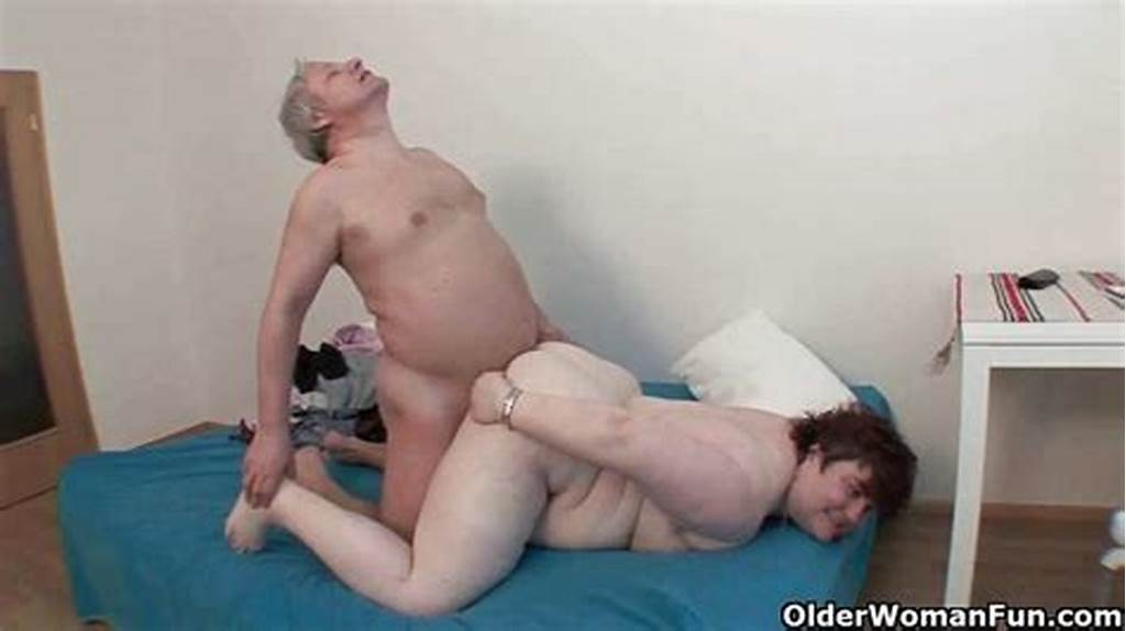 #Bbw #Granny #Makes #The #Best #Of #Grandpa'S #Small #Penis