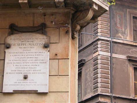 Via Capo Le Roma giuseppe mazzini
