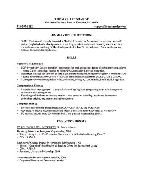 Investment Analyst Resume