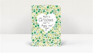 Grün Auf Englisch : weihnachtskarte gemalte weihnachtsgr e englisch mit sternen in gr n dk1423 ~ Orissabook.com Haus und Dekorationen