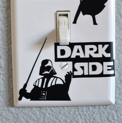 E Light by Wars Light Switch Silhouette Challenge What