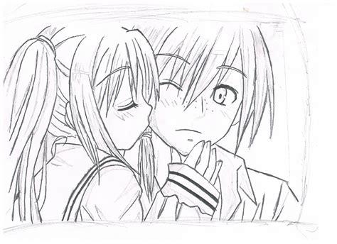anime cool boy and girl love drawing girl anime love simple anime girl drawing cute