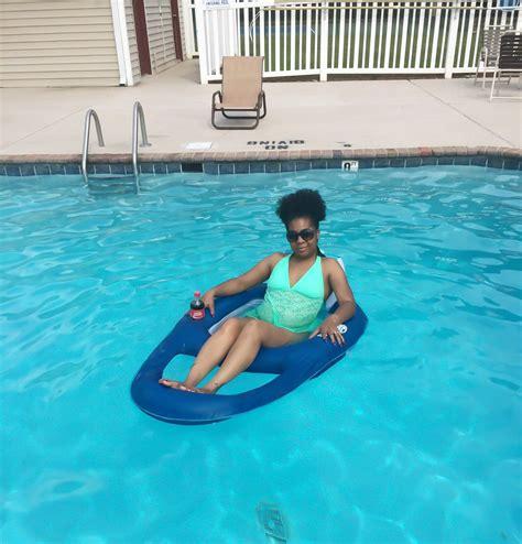 swimways pool recliner inflatable swimming pool shock