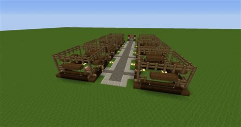 blueprint house plans pig stable minecraft project