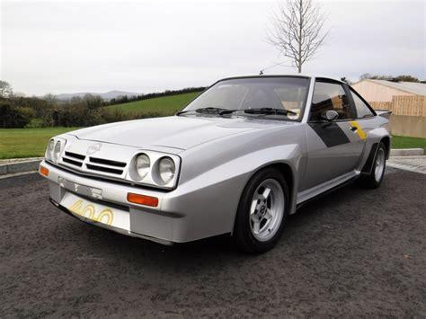 opel kadett 1976 rare rally bred opel manta 400 for auction at cca