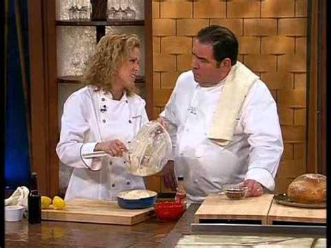 web tv cuisine chef gwen on emeril live
