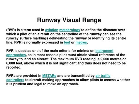 ppt runway visual range powerpoint presentation id 6769858
