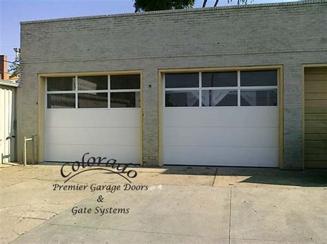commercial garage door with door commercial garage doors with windows ideas image mag