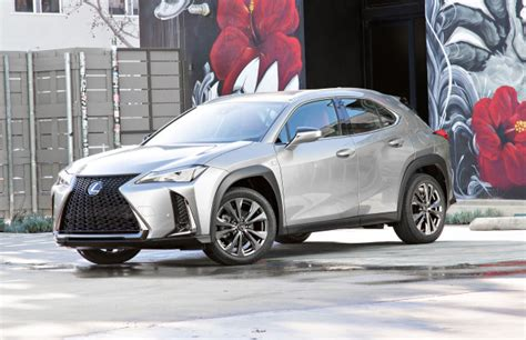 lexus ux small suv emerges   trim hybrid