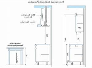 Meuble Avec Plan De Travail : hauteur plan de travail cuisine standard ~ Dailycaller-alerts.com Idées de Décoration