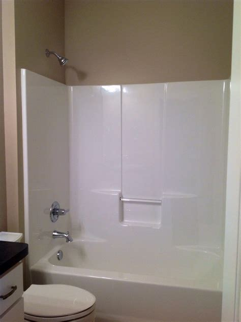 Tub Shower Combo One by Best 25 One Tub Shower Ideas On One