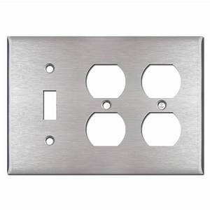1 Toggle 2 Duplex Outlet Cover