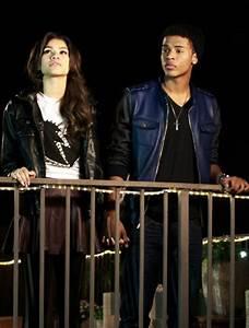 Zendaya Coleman And Trevor Jackson Kissing ...