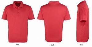 Personalised Training Cool Polo Shirt JC040