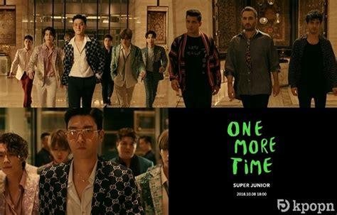 Super Junior《one More Time》首波 Mv 預告公開,reik 登場!
