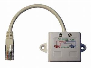 Rj45 Economiser    Cat5e Splitter