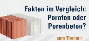 Poroton Oder Porenbeton : rohbau fassade baustoffe online shop benz24 ~ Lizthompson.info Haus und Dekorationen