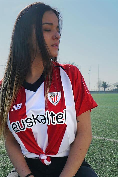 camiseta mujer primera equipacion athletic club