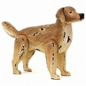 hand painted golden retriever sculpture wood golden With kitchen cabinets lowes with golden retriever wall art