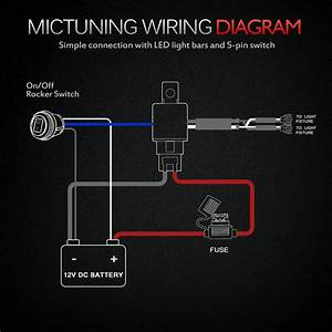 Led Light Bar Rocker Switch Wiring Diagram