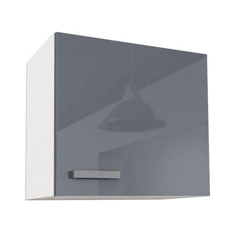 caisson cuisine haut start caisson haut de cuisine 60 cm gris haute brillance