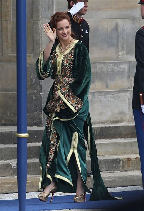 princess lalla salma  morocco bestdressed  green