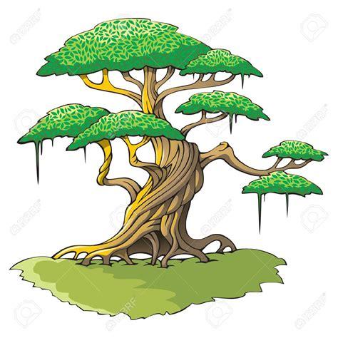 Banyan Tree Clipart Animated