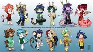 chibi anime zodiac - Chinese Zodiac Photo (36432782) - Fanpop