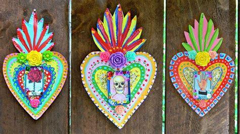 mexican tin folk art    wall decor art  cut