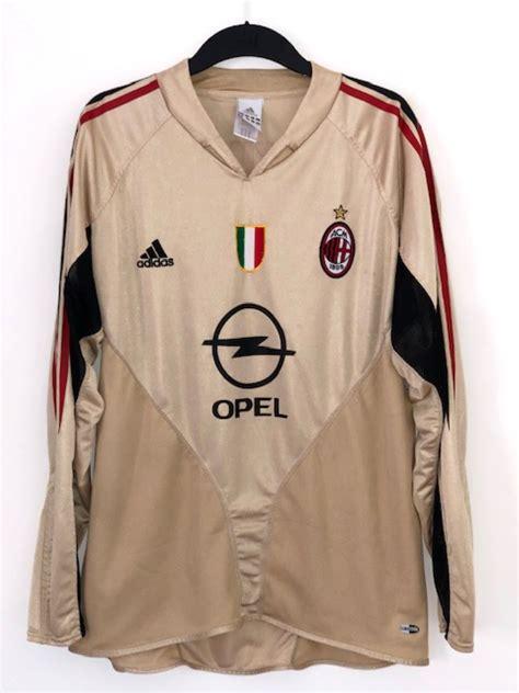 Shop club and international kits from throughout his career. AC Milan 2004 - 2005 Third Shirt Long Sleeve 'Shevchenko ...