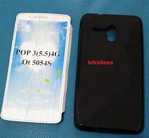 Alcatel 5054s Pop3 At U0026t Funda Protector Silicon Tpu Oferta