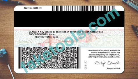 California Id Template California Driver License Psd Template Buy Usa Id