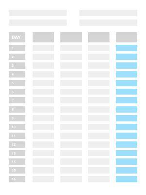 timesheet templates clockify