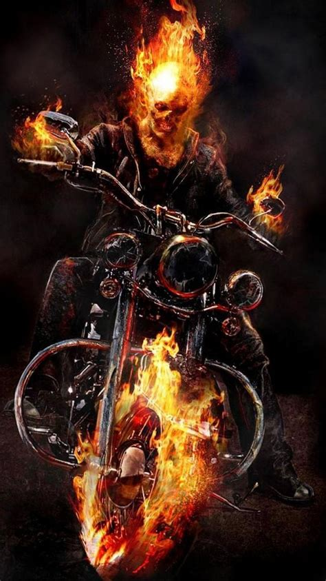 ghost rider 3d wallpapers mobile wallpaper cave