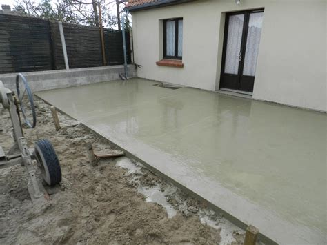 nivrem construction terrasse bois sur dalle beton diverses id 233 es de conception de patio