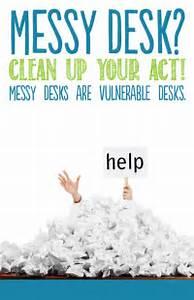 Clean Desk Policy Template 21 Best Clean Desk Campaign Images On Pinterest Clean Desk Clear Desk And Desk Tidy