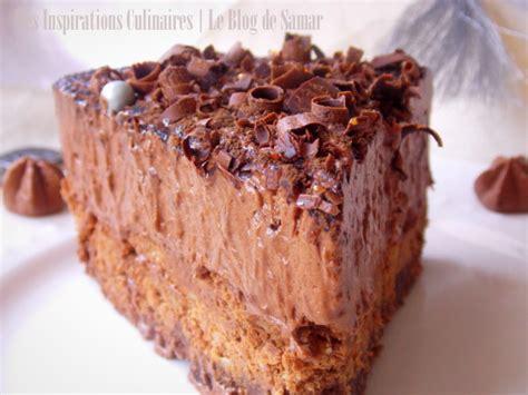 recette cuisine tv gateau mousse au chocolat comme un trianon le cuisine de samar