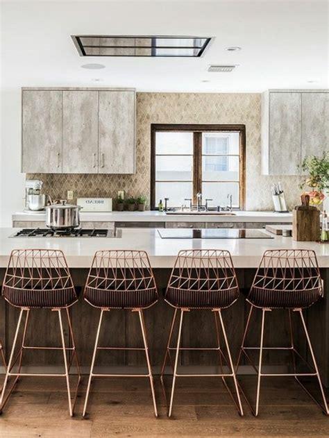 chaise de bar cuisine la chaise de cuisine moderne en 62 photos inspirantes