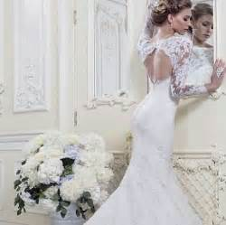 fitted wedding gowns lace fitted sleeve wedding dress sang maestro