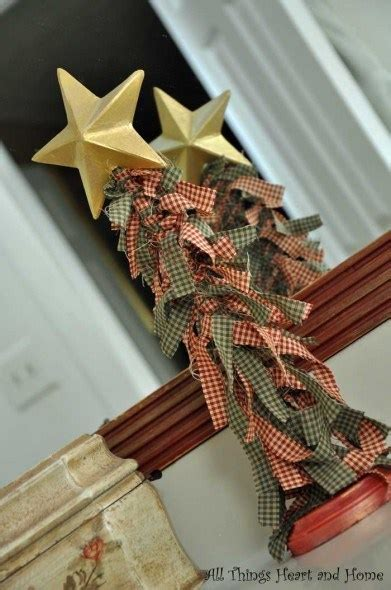 make a rag strip christmas tree how to make a fabric scrap tree recycled crafts