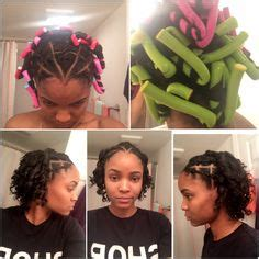 rubber bands transitioning hairstyles short hair