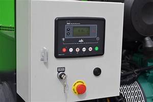 Controlo Dos Grupos Eletrog U00e9neos Com A Unidade De Controlo